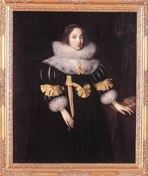 Portrait of Lady Anne Ruhout 1631