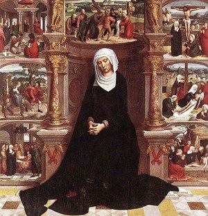 Famous paintings of Statues: Our Lady Of The Seven Sorrows
