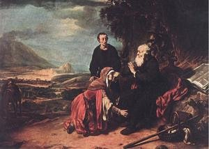 Prophet Eliseus and the Woman of Sunem 1664