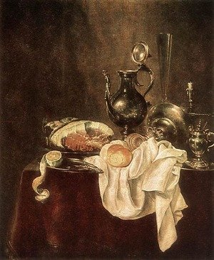 Ham and Silverware 1649