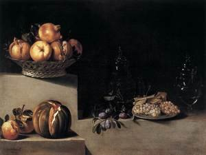 Still-Life with Fruit and Glassware 1626