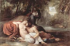 Reproduction oil paintings - Francesco Paolo Hayez - Rinaldo And Armida 1812-13