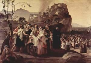 Reproduction oil paintings - Francesco Paolo Hayez - The Refugees of Parga 1831