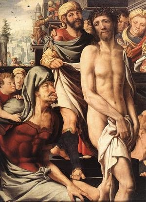 Mannerism painting reproductions: Christ Mocked (detail)
