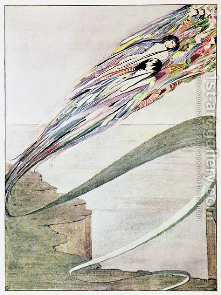The Year's at the Spring 20 by Harry Clarke - Reproduction Oil Painting