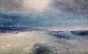 Reproduction oil paintings - Ivan Konstantinovich Aivazovsky - After the storm 2