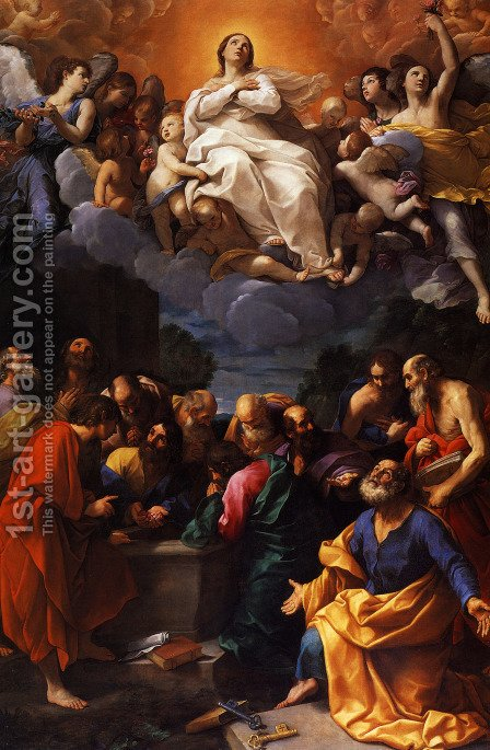 Assumption 2 by Guido Reni - Reproduction Oil Painting