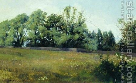 Landscape 4 by Ivan Shishkin - Reproduction Oil Painting