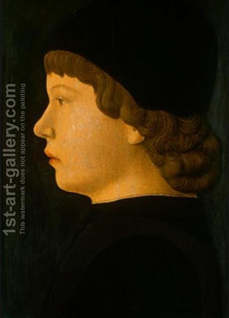 Profile Portrait of a Boy by Giovanni Bellini - Reproduction Oil Painting