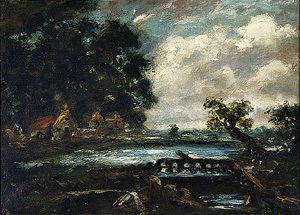 Reproduction oil paintings - John Constable - Study for The Leaping Horse (View on the Stour)