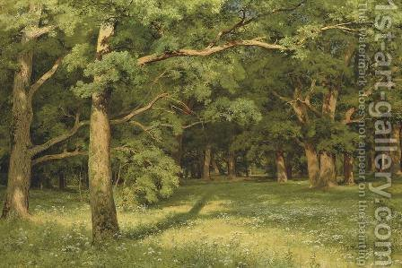 The Forest Clearing by Ivan Shishkin - Reproduction Oil Painting