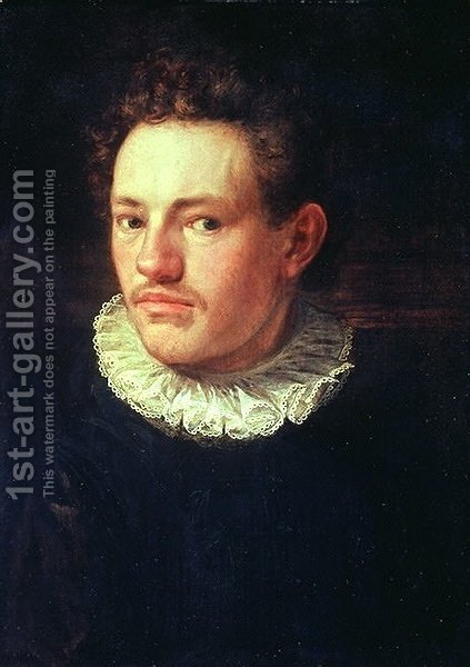 Self-portrait by Hans Von Aachen - Reproduction Oil Painting