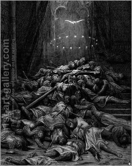 A Celestial Light by Gustave Dore - Reproduction Oil Painting