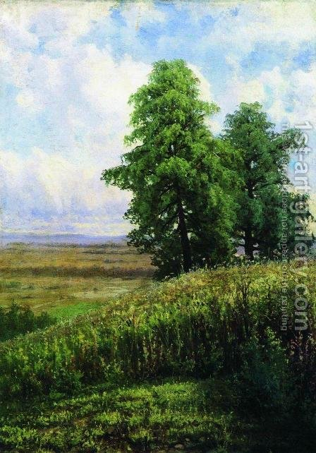 Slope by Ivan Shishkin - Reproduction Oil Painting