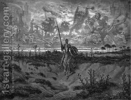 Don Quixote 60 by Gustave Dore - Reproduction Oil Painting