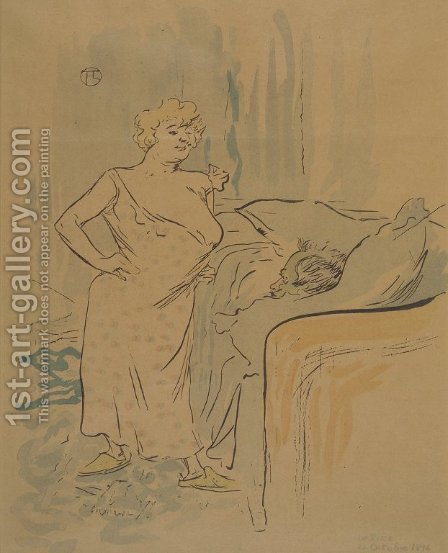 Unknown 4 by Toulouse-Lautrec - Reproduction Oil Painting