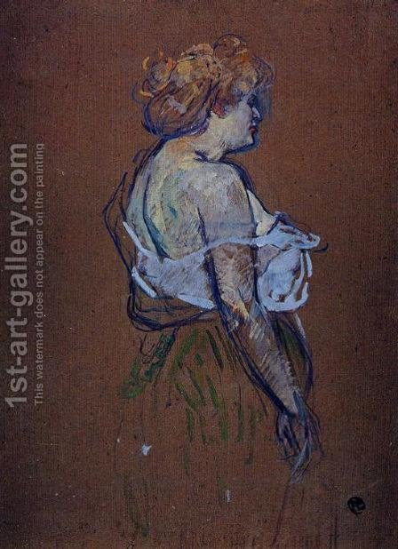 Lucie Bellanger by Toulouse-Lautrec - Reproduction Oil Painting
