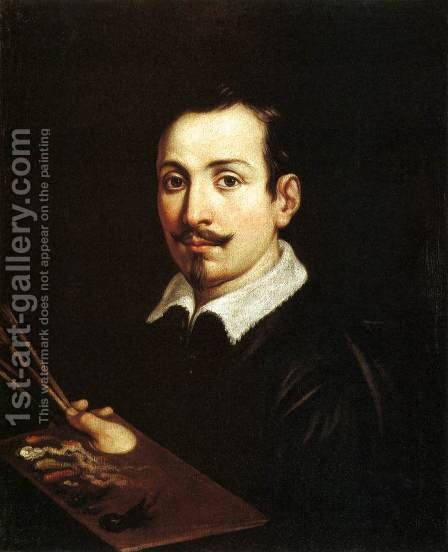 Self Portrait 2 by Guido Reni - Reproduction Oil Painting