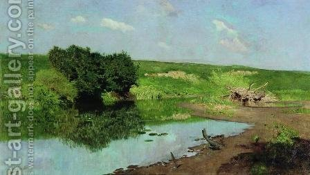 Landscape 4 by Isaak Ilyich Levitan - Reproduction Oil Painting