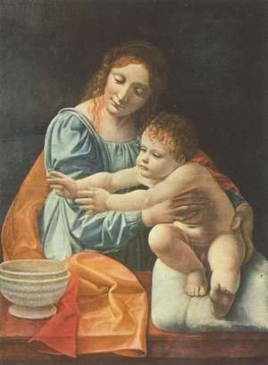 Reproduction oil paintings - Giovanni Antonio Boltraffio - Madonna and Child