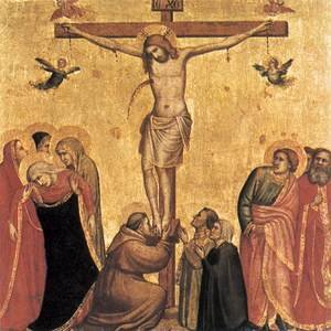 Reproduction oil paintings - Giotto Di Bondone - The Crucifixion 5