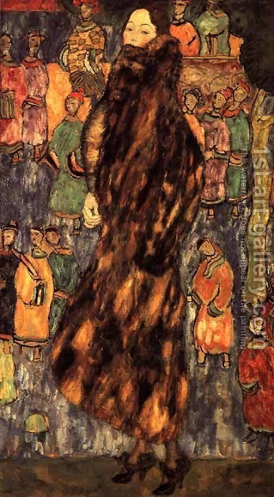 Unknown 3 by Gustav Klimt - Reproduction Oil Painting