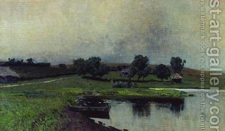 Dull day 2 by Isaak Ilyich Levitan - Reproduction Oil Painting