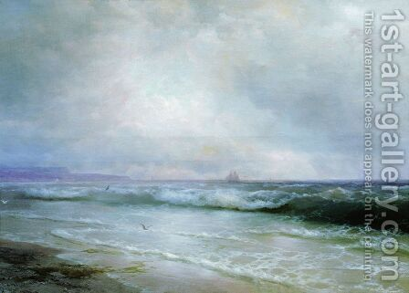 Surf 3 by Ivan Konstantinovich Aivazovsky - Reproduction Oil Painting