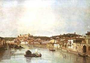 Famous paintings of Nautical: Verona Veduta