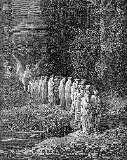 Apocalyptic Procession by Gustave Dore - Reproduction Oil Painting
