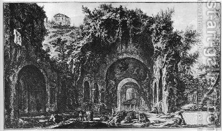 Vedute di Roma 83 by Giovanni Battista Piranesi - Reproduction Oil Painting