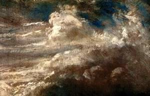 Reproduction oil paintings - John Constable - Nuvens