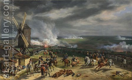 The Battle of Valmy (September 20th 1792) by Horace Vernet - Reproduction Oil Painting