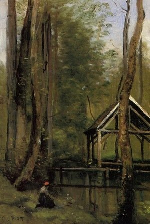 Reproduction oil paintings - Jean-Baptiste-Camille Corot - Unknown 5