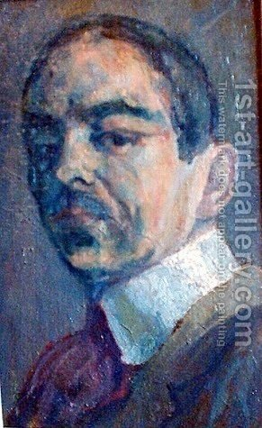 Self Portrait by Istvan Nagy - Reproduction Oil Painting