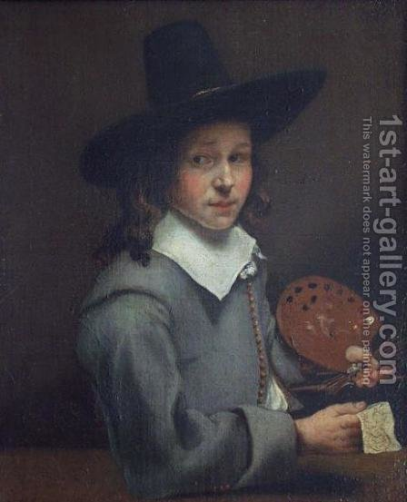 Self-Portrait as a Boy by Aelbert Cuyp - Reproduction Oil Painting