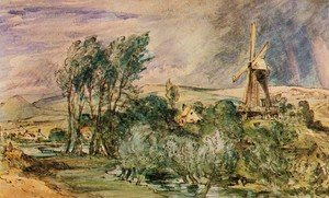 Reproduction oil paintings - John Constable - Foord Rd Mill, Folkestone