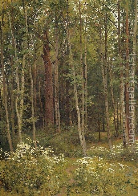 Covert 3 by Ivan Shishkin - Reproduction Oil Painting