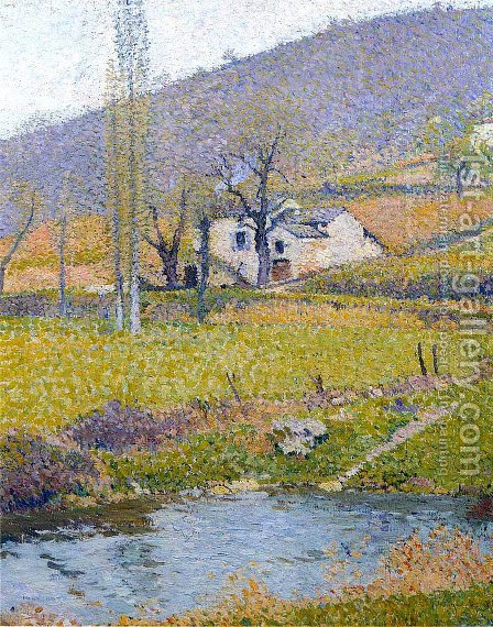 Labastide du Vert 8 by Henri Martin - Reproduction Oil Painting
