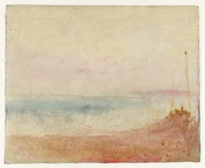 Reproduction oil paintings - Turner - Coast Scene