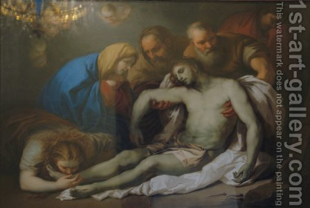 The Lamentation by Aleksei Gavrilovich Venetsianov - Reproduction Oil Painting