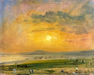 Reproduction oil paintings - John Constable - Shoreham Bay, Evening Sunset
