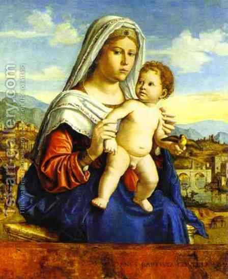 Virgin and Child 2 by Giovanni Battista Cima da Conegliano - Reproduction Oil Painting