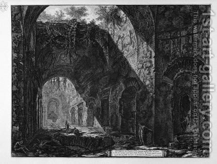 Inside the Temple previous by Giovanni Battista Piranesi - Reproduction Oil Painting