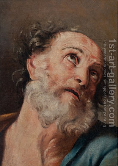 Saint Peter by Guido Reni - Reproduction Oil Painting