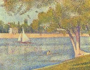 The river Seine at La Grande-Jatte