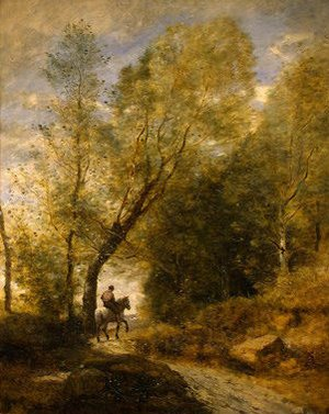 Reproduction oil paintings - Jean-Baptiste-Camille Corot - The Forest of Coubron