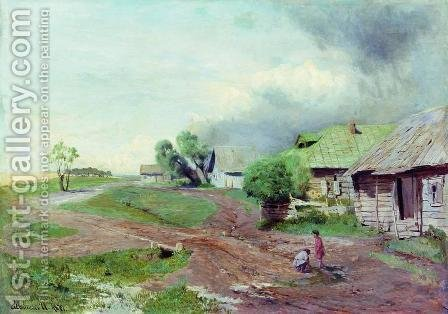 Before the thunderstorm by Isaak Ilyich Levitan - Reproduction Oil Painting