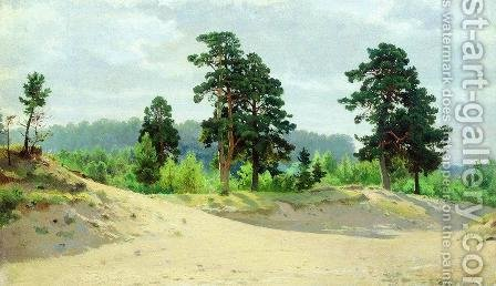 Edge of the Forest 7 by Ivan Shishkin - Reproduction Oil Painting