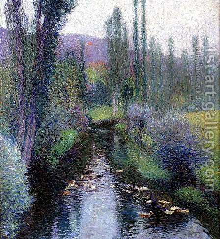 Ducks on the Vert by Henri Martin - Reproduction Oil Painting